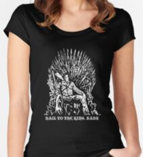 Hail to the King, Baby (Ash - Army of Darkness Women's Fitted Scoop T-Shirt