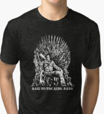 Hail to the King, Baby (Ash - Army of Darkness Tri-blend T-Shirt