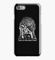 Hail to the King, Baby (Ash - Army of Darkness iPhone Case/Skin