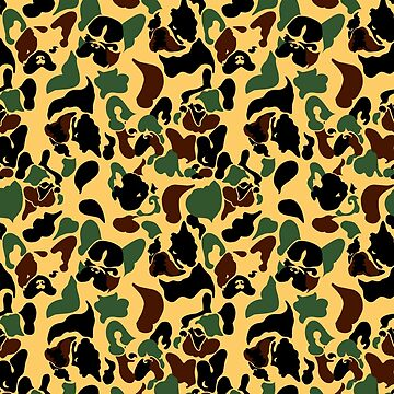 Frenchie Camouflage by Huebucket