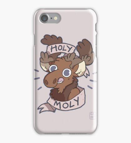 Holy Moly Moose iPhone Case/Skin