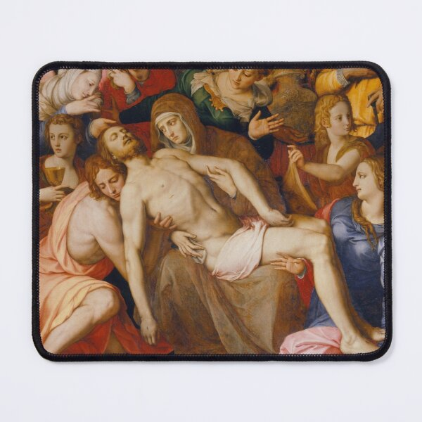 Agnolo Bronzino - The Deposition of Christ Mouse Pad