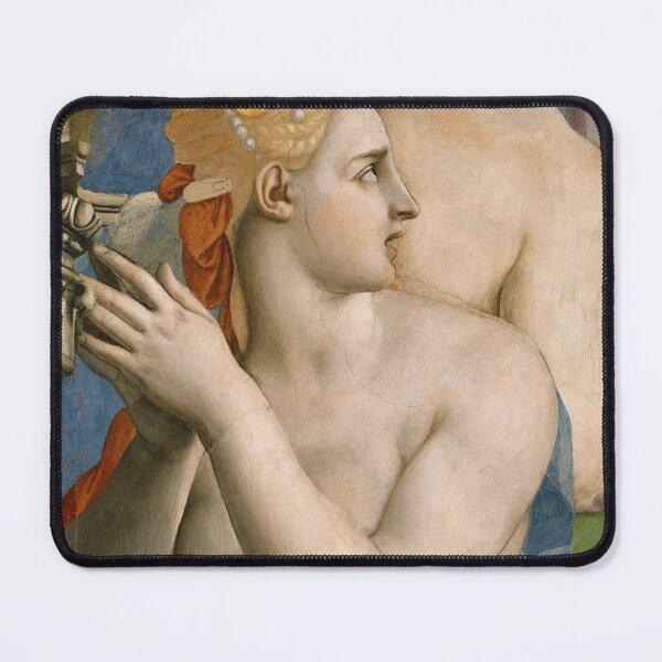 Agnolo Bronzino - The adoration of the bronze snake Mouse Pad