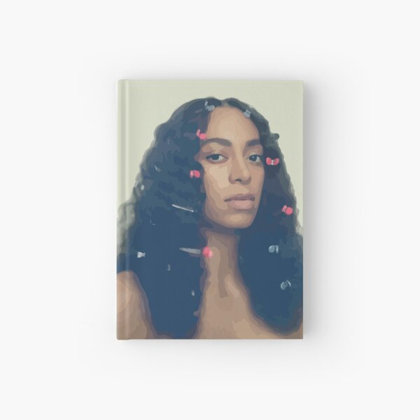 Solange Knowles - A Seat At The Table cover Hardcover Journal