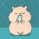 Christmas Cookie Hamster by zoel