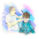 The Haircut by Richard Rabassa