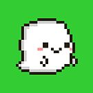 Cute pixel ghost by peppermintpopuk