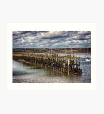 The End Of The Jetty Art Print