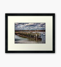 The End Of The Jetty Framed Print