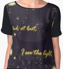 At Last I see the Light Women's Chiffon Top