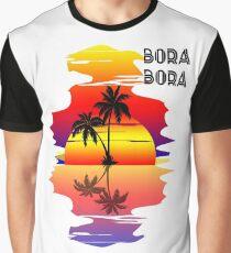 Bora Bora Grafik T-Shirt