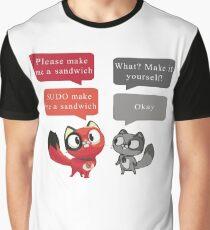 Make me a sandwich! Graphic T-Shirt