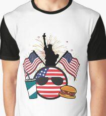 USABall Graphic T-Shirt
