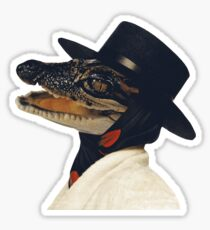 Gator Chic Sticker