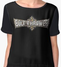 Bolt Thrower Cathedral Logo Chiffon Top