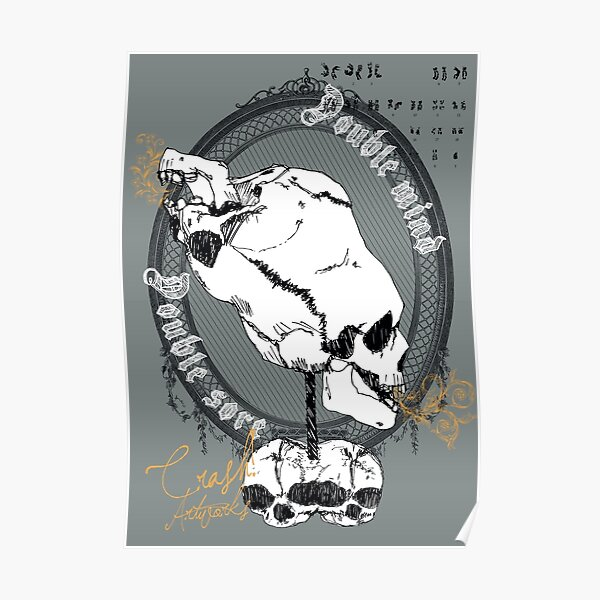 [SKULLS!] Double Mind - Double Sore ::prints:: Poster