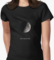 Just a dusty rock Women's Fitted T-Shirt