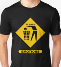 Please Dispose of Your Emotions Properly T-Shirt