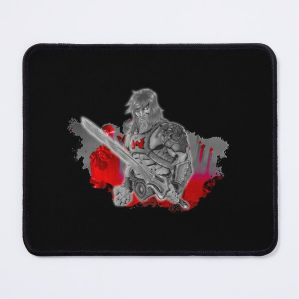 King of Power! (Black, White and Red) Variant| Perfect Gift Mouse Pad