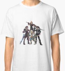 Final Fantasy Characters Classic T-Shirt