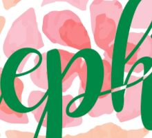 AEPhi flower Sticker