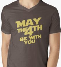 May the 4th Mens V-Neck T-Shirt