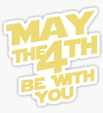 May the 4th Sticker