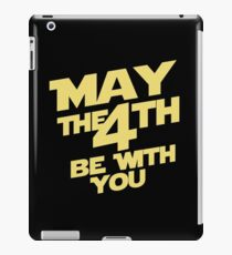 May the 4th iPad Case/Skin