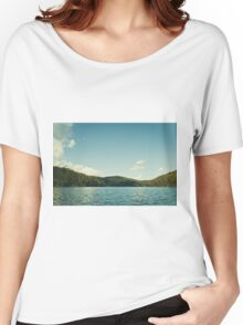 Tranquil lake Women's Relaxed Fit T-Shirt