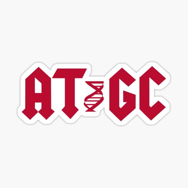 DNA AT GC Molecular Biology Sticker
