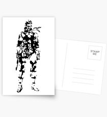 Metal Gear Solid - Solid Snake Postcards
