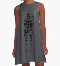 Metal Gear Solid - Solid Snake A-Line Dress