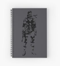 Metal Gear Solid - Solid Snake Spiral Notebook