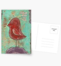 Dear you, never give up Postcards