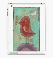 Dear you, never give up iPad Case/Skin