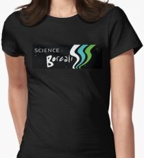 Science Borealis logo gear Women's Fitted T-Shirt