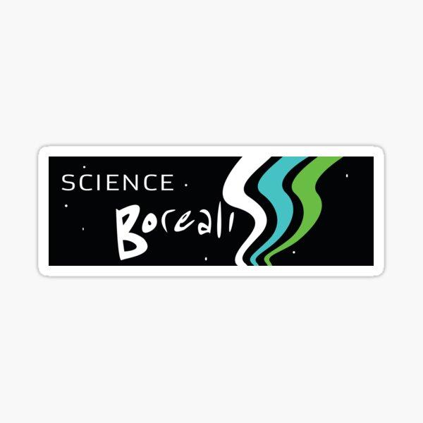 Science Borealis logo gear Sticker
