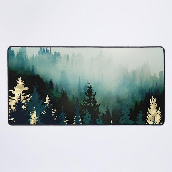 Forest Glow Desk Mat