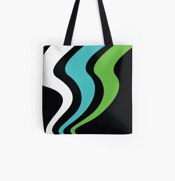 Science Borealis Logo Gear -  Aurora Avatar All Over Print Tote Bag