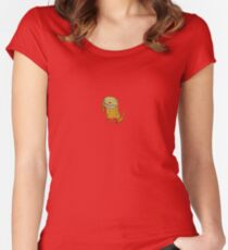 A Dog Women's Fitted Scoop T-Shirt