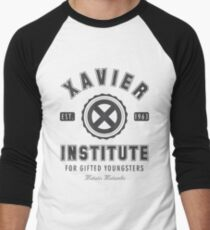 Xavier Institute Men's Baseball ¾ T-Shirt