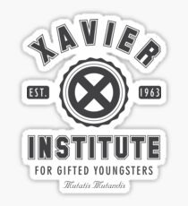 Xavier Institute Sticker