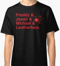 Horror Icons Classic T-Shirt