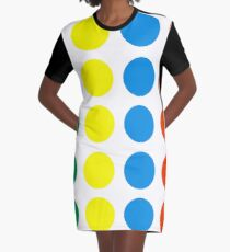 Twister Graphic T-Shirt Dress