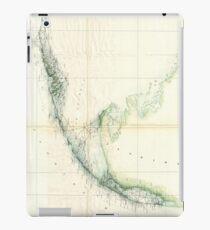 Vintage Map of The Florida Keys (1859) iPad Case/Skin