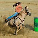 Barrel Racer by Joe Saladino