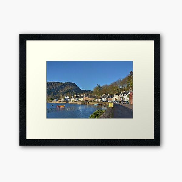 Plockton, Scotland. Framed Art Print