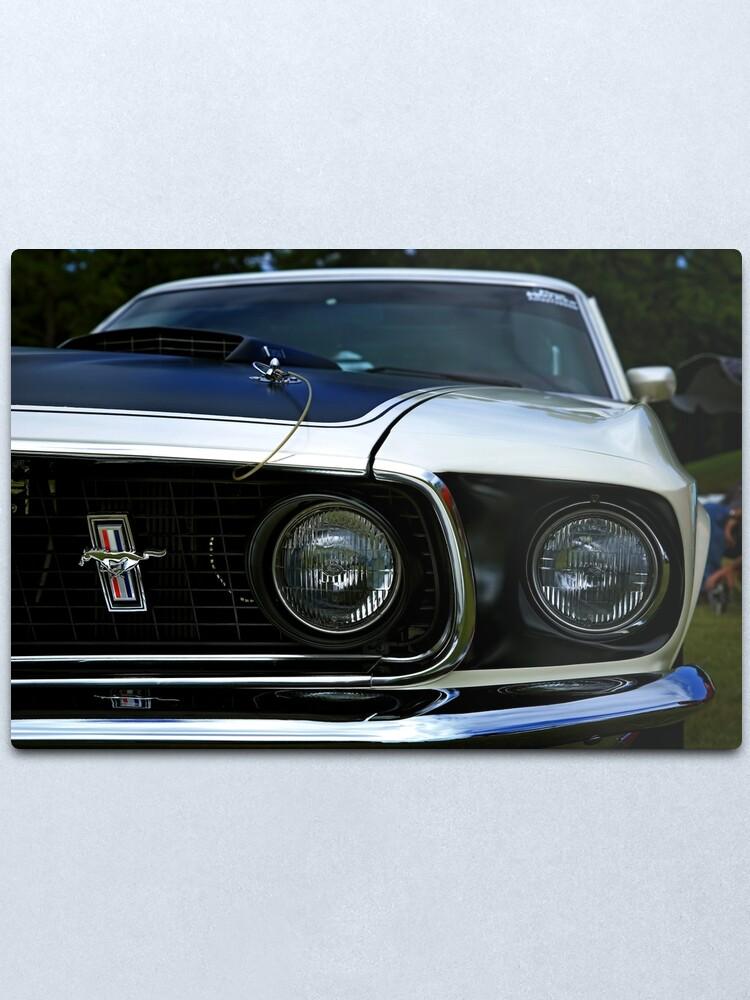Alternate view of 1969 Ford Mustang Metal Print