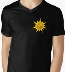 Golden Sun Mens V-Neck T-Shirt