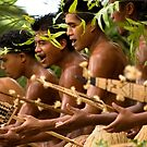 Paddle Dance - Pohnpei Island, Micronesia by Alex Zuccarelli